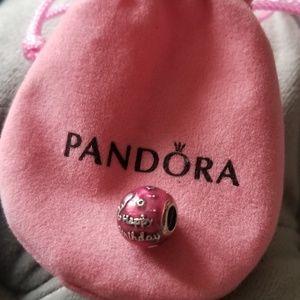 "Pandora charm ""Happy Birthday"""